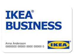 Carte Ikea Business