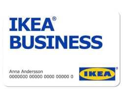 Carte Ikea Business