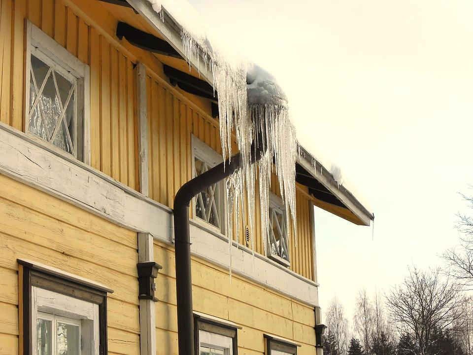 Haus vor Winter schützen