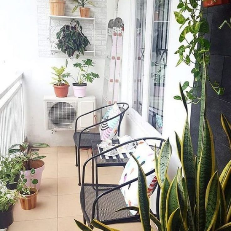 teras rumah mungil minimalis moder