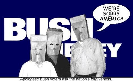 Apologetic Bush Voters