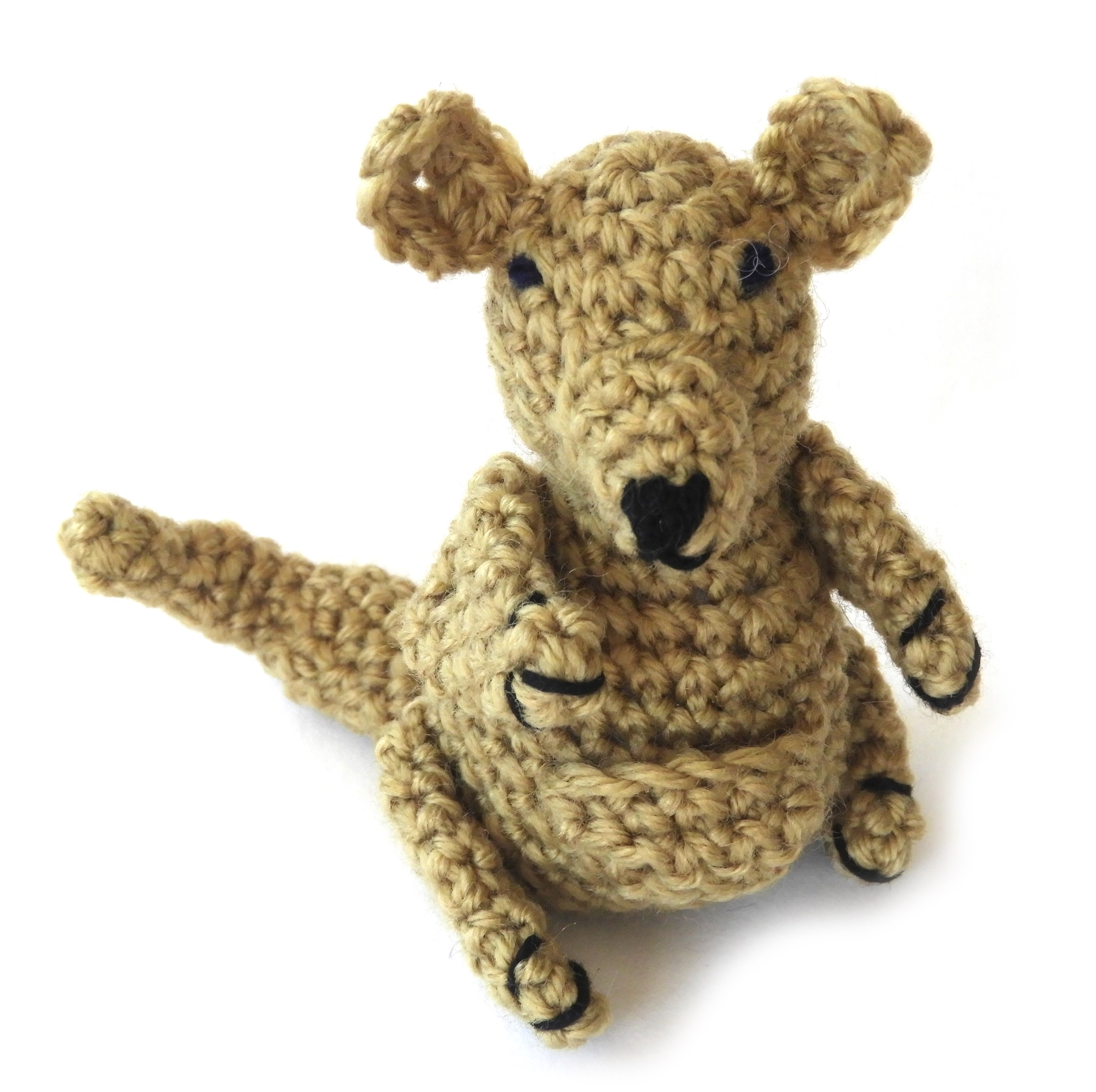 Kangaroo Amigurumi with Free Crochet Pattern - Pattern Center | 2233x2242