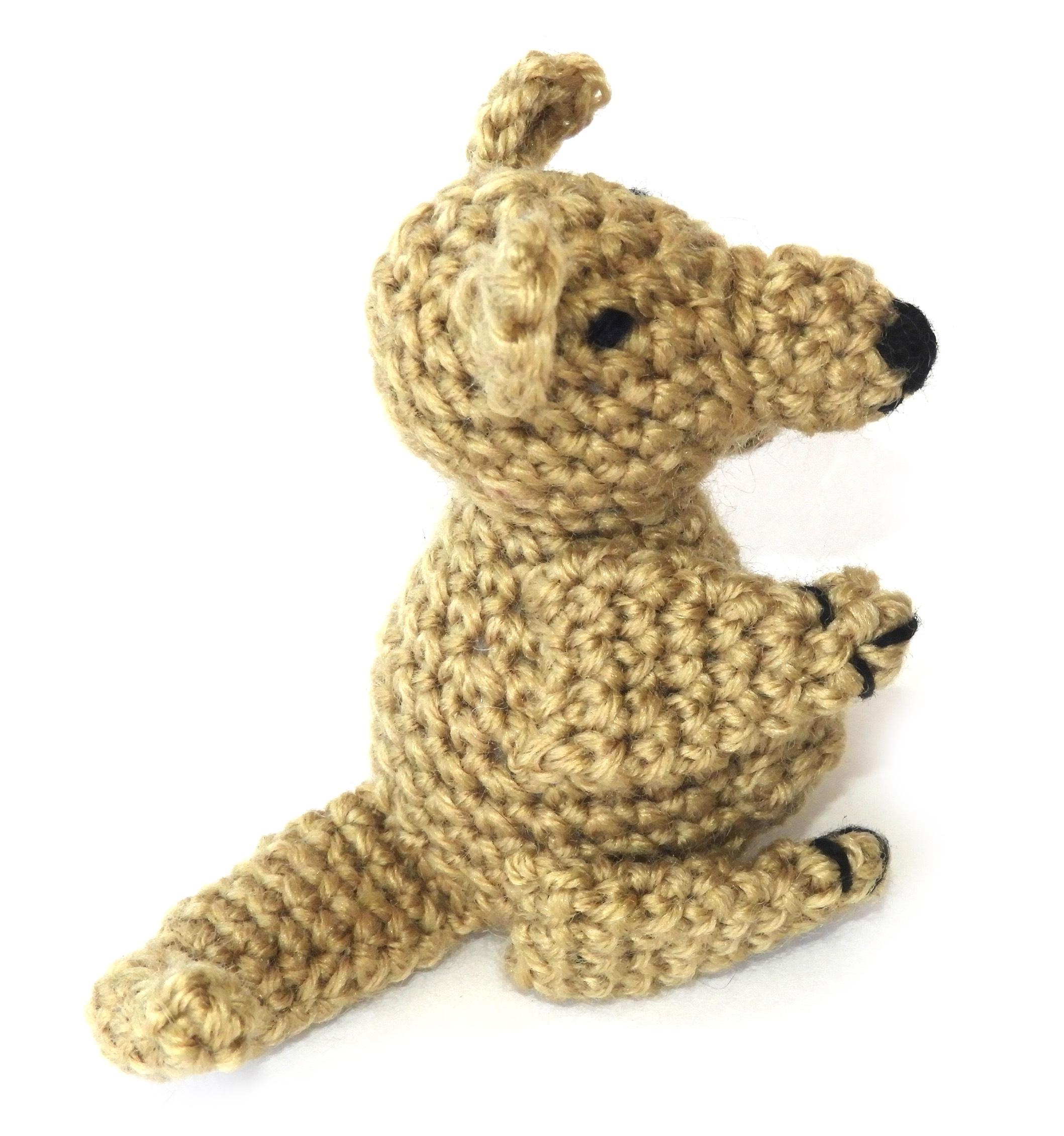 Crochet Amigurumi Kangaroo and Joey PATTERN ONLY, Mama Jill and ... | 2261x2117