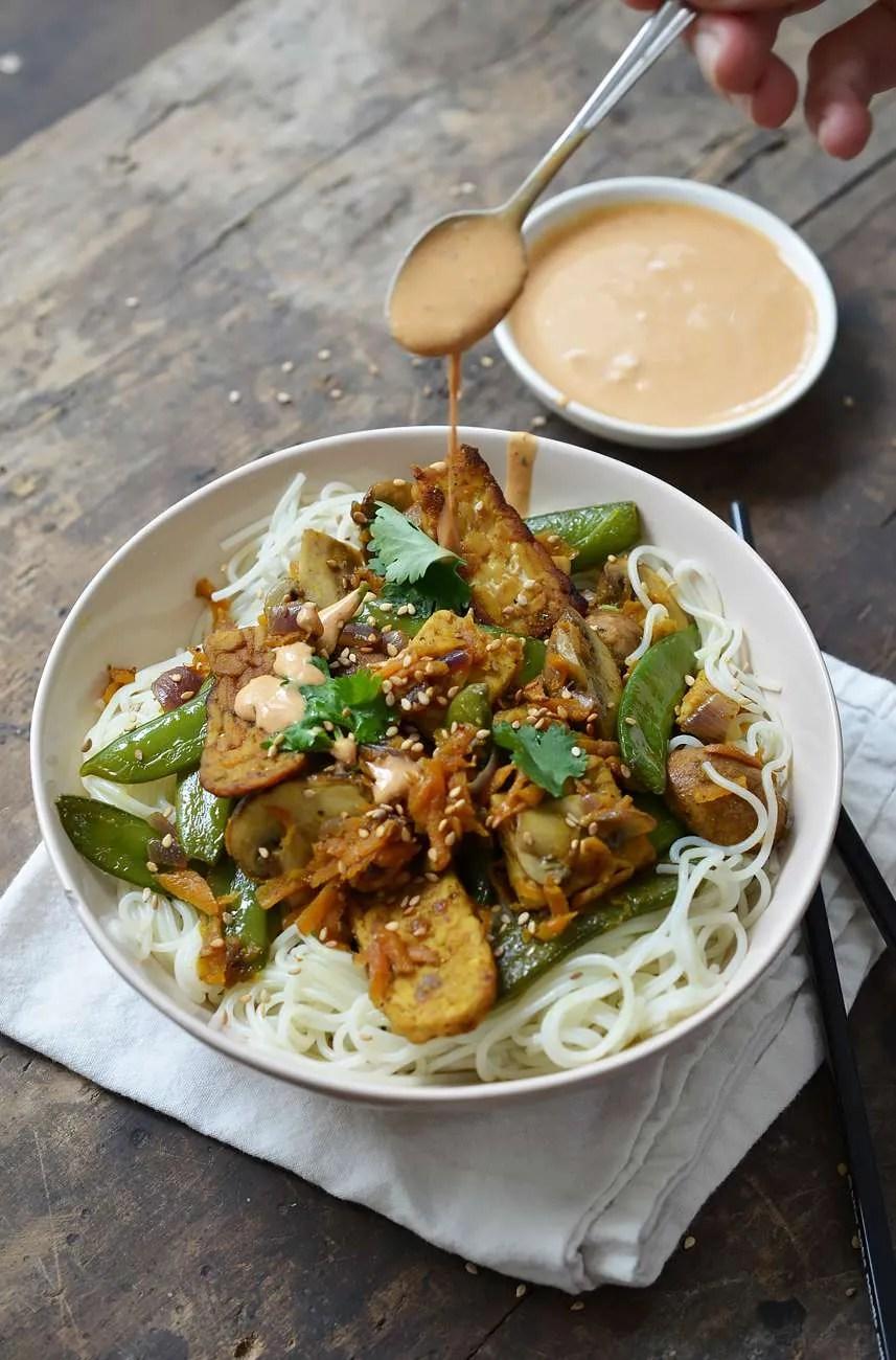 Rens Kroes Tempeh Noodles