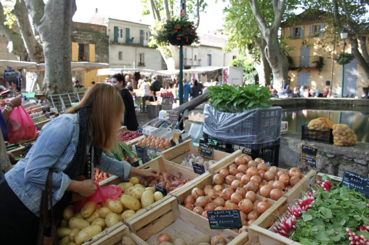 Market Cucuron Provence Lourmarin Rent-Our-Home