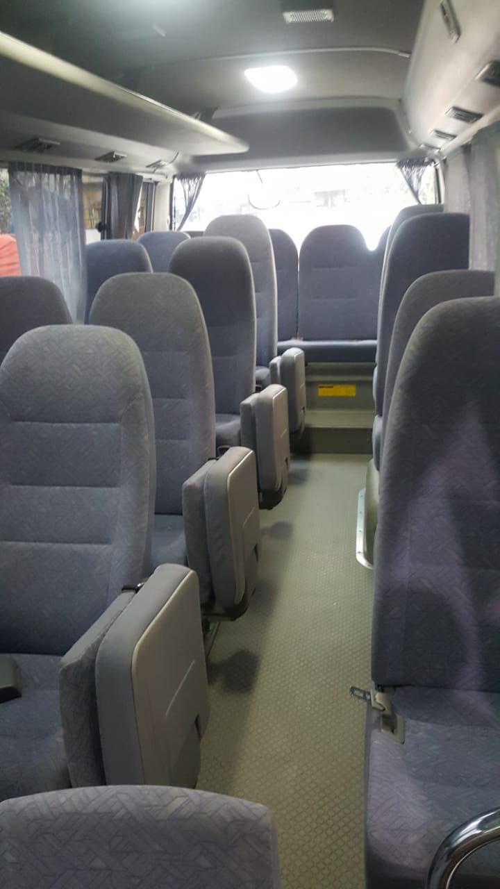 Toyota Coaster 29 seater with fridge