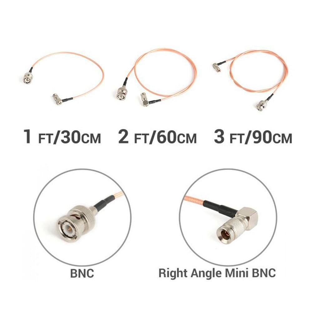 CGPRO BNC TO RIGHT ANGLE MINI BNC SDI CABLE