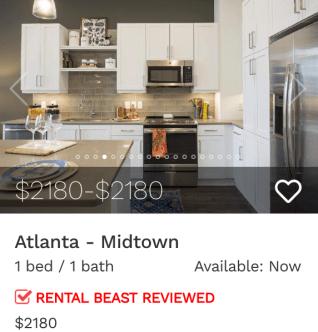 rent in atlanta