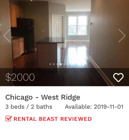 rent in west ridge