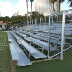 Bleacher Rental at Mariott in Orlando