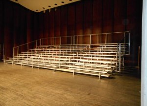 Bleacher Rental at UGA Athens