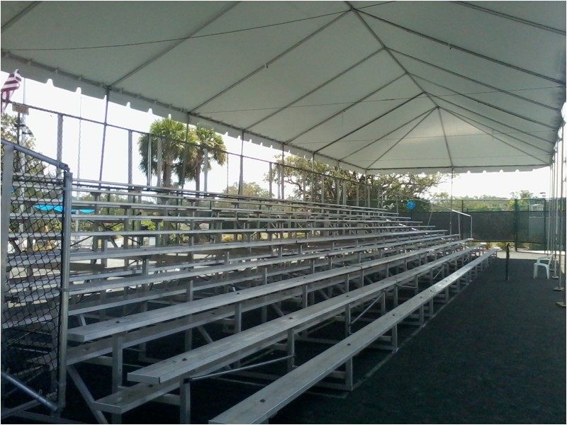 Bleachers for Spring Sports