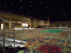 Indoor Bleacher Rental Event in Orlando Florida