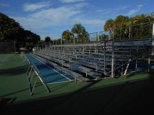 tennis court bleacher rentals Captiva
