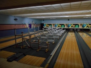 Bleachers for Bowling Alley