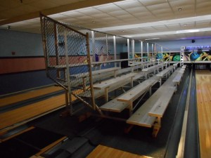 Bowling Alley Seating Solution