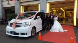 rental mobil pernikahan paling murah sejakarta pusat timur barat bekasi depok tangerang