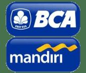 Rental Motor Malang BCA MANDIRI LOGO