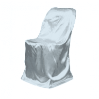 Luxe Event Rental Satin-folding-chair-cover-silver