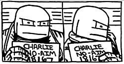 Charlie No-Aim Mugshot