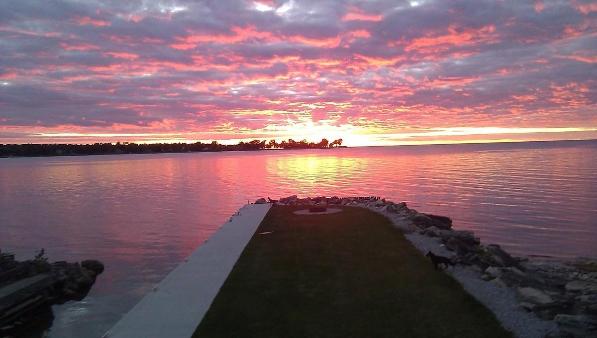 Sawyer sunset