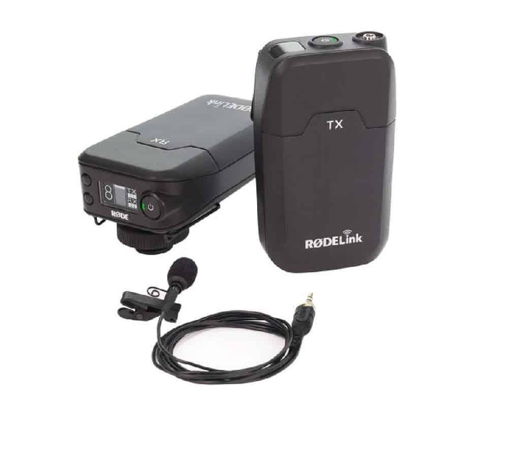 Rode juhtmevaba mikrofoni saatja ja vastuvõtjaga komplekti rent