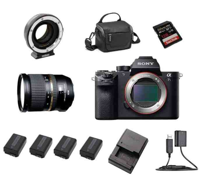Sony A7S 2 II kaamera rent