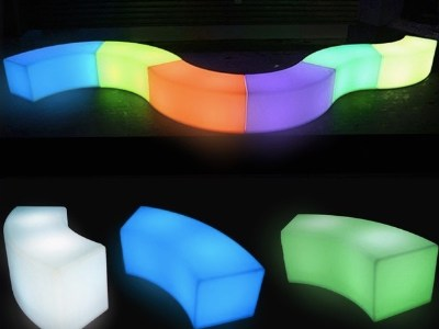 LED chair for rent NYC