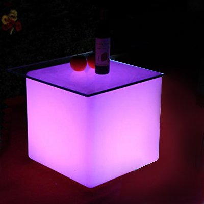 LED coffee tables for rent