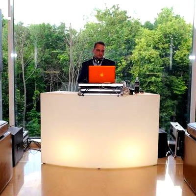 Illuminated DJ Booth Rentals