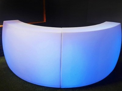 LED Bar - curved