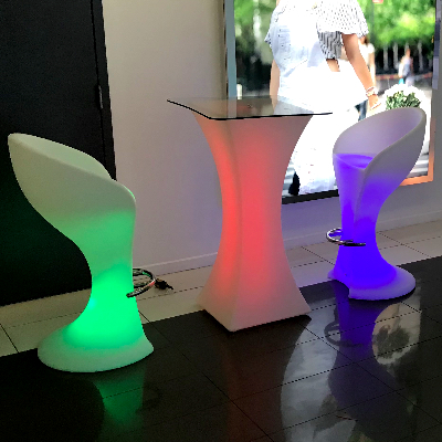 LED Bar Stool rental nyc