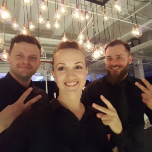 Hire staff for events