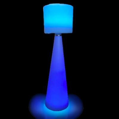 LED Illuminated Floor Lamp for rent