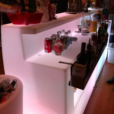 LED Portable bar rental