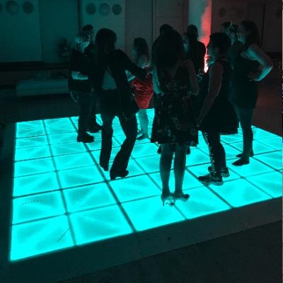 Glowing Dance floor rental