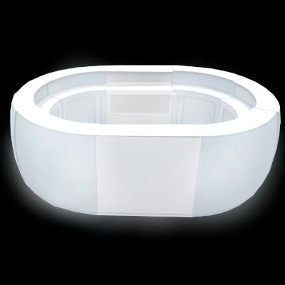 LED Oval Bar for rent