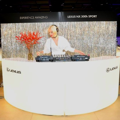 LED DJ Booth Rental NYC