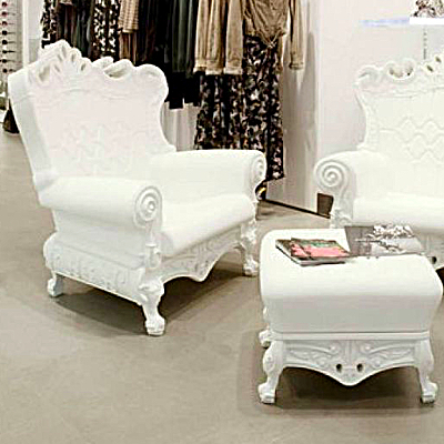 Baby Shower throne chair rental