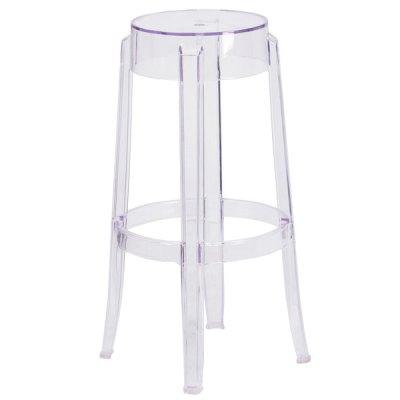 Ghost clear bar stools rental