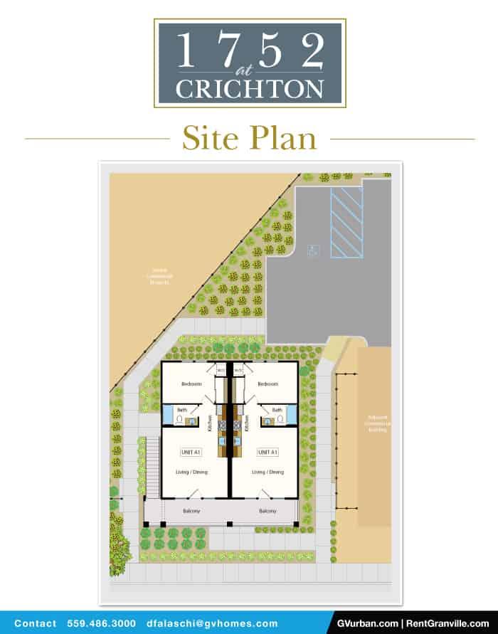 1752 L Street - Site Plan