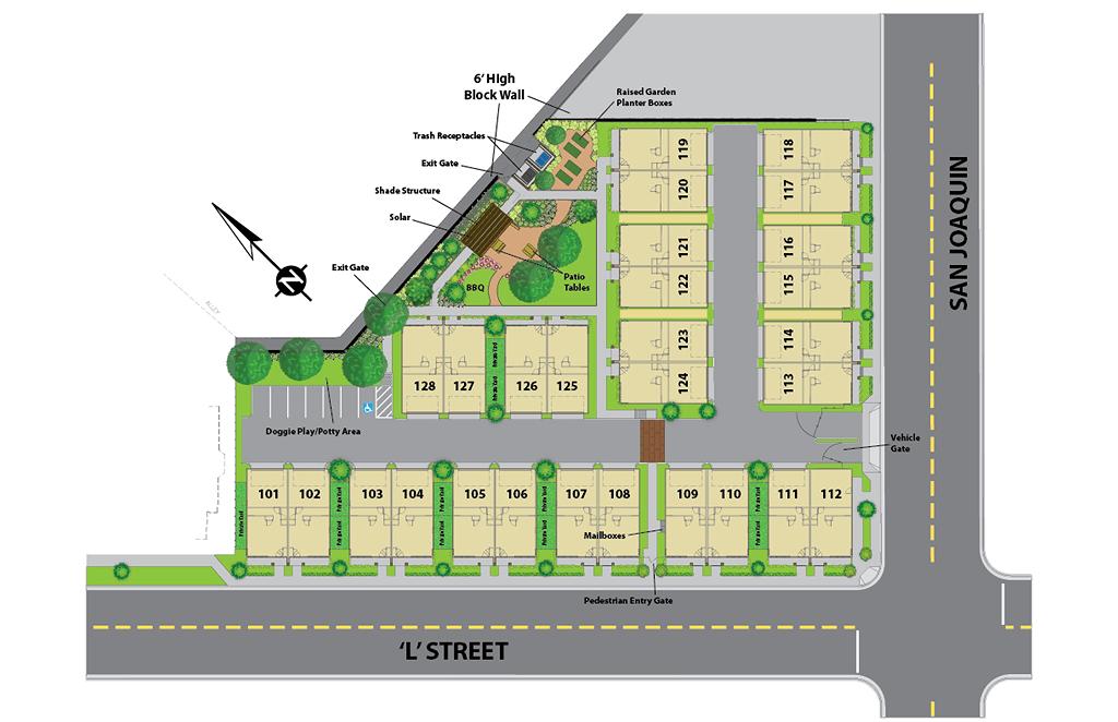 Crichton Place Site Plan