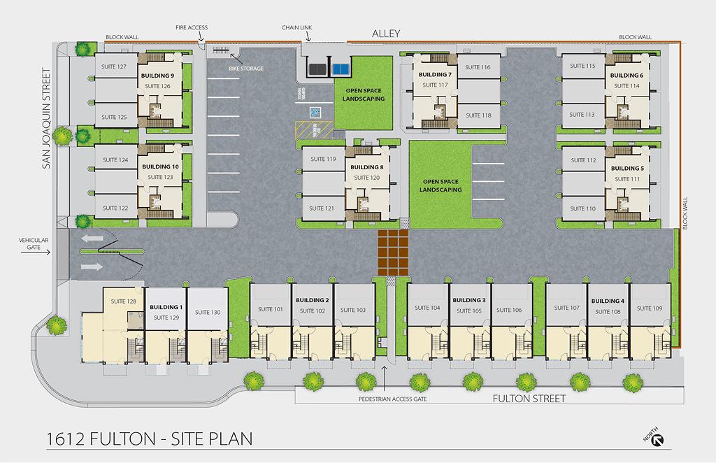 1612 Fulton - Site Plan