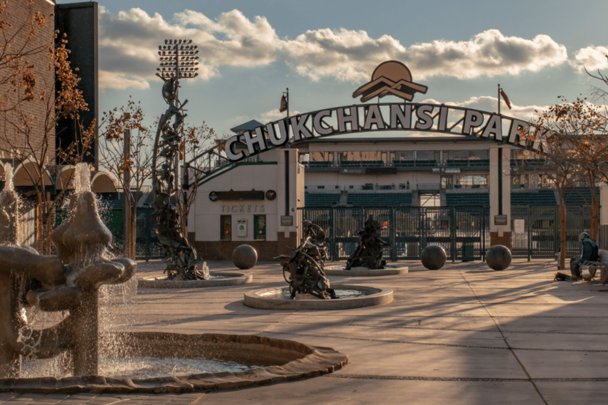Chukchansi Park is home to the Grizzlies baseball team.