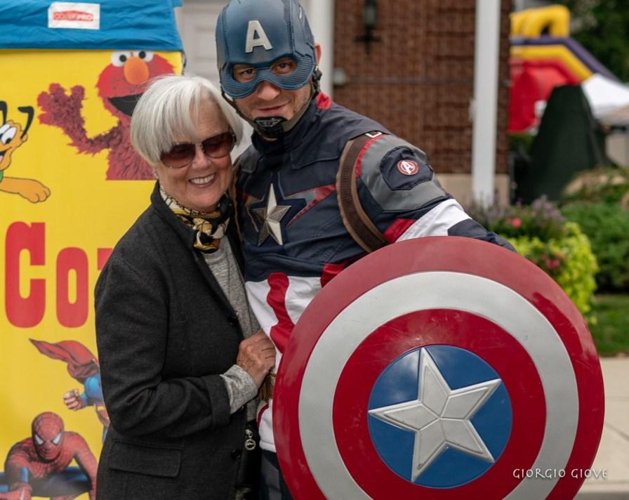 everyone loves Captain America