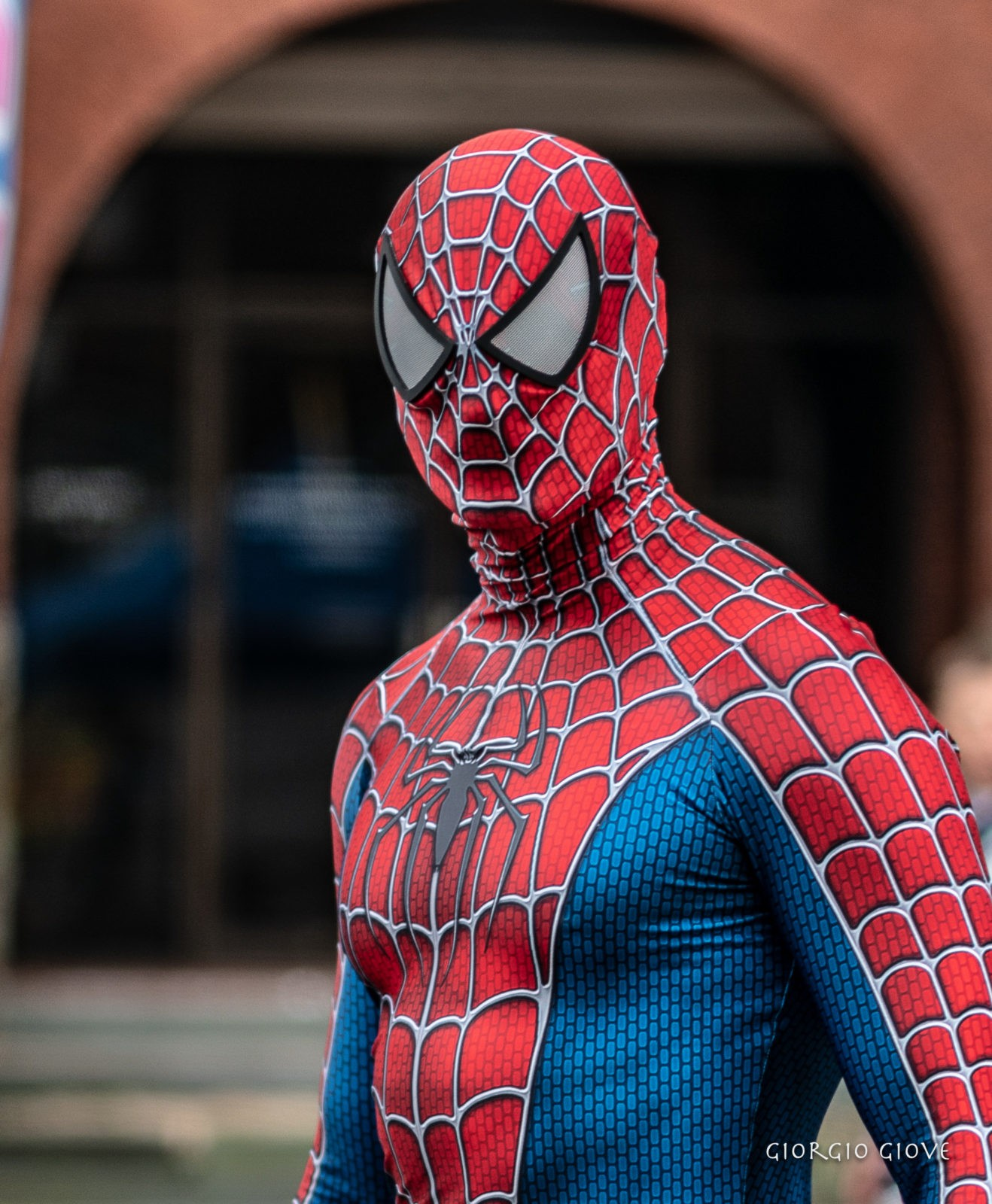 Spider man at looking good