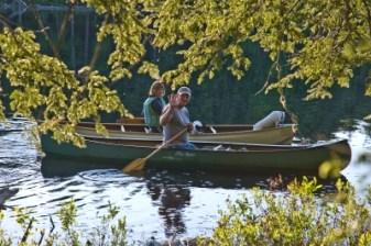 canoeing in northwoods minocqua