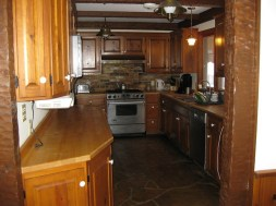 Enjoy the fully equiped kitchen.
