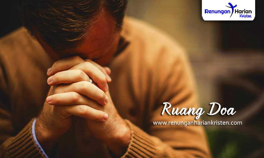 renungan harian kristen - ruang doa