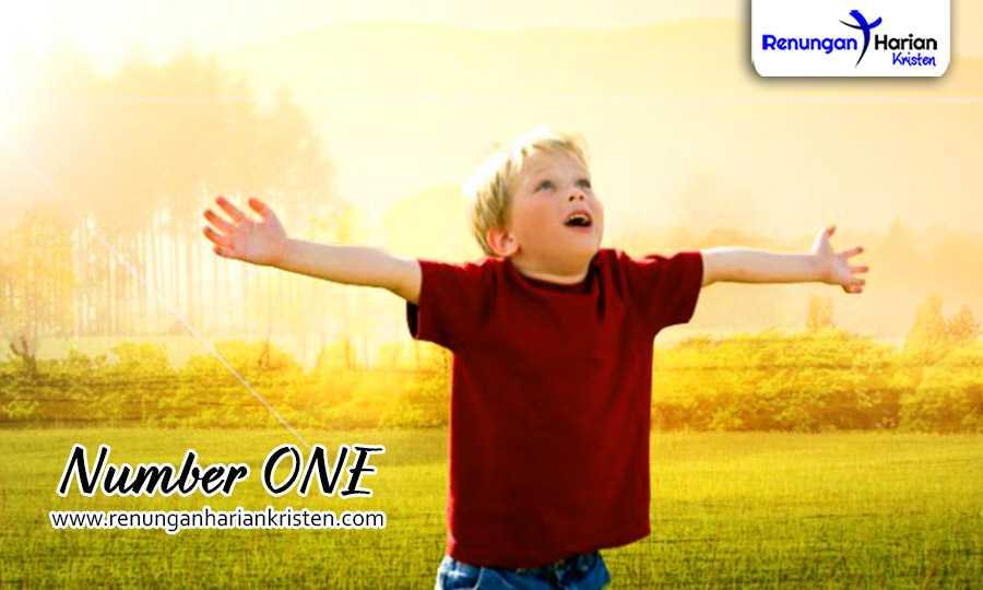 Renungan Harian Anak Matius 3:13-17 | Number ONE